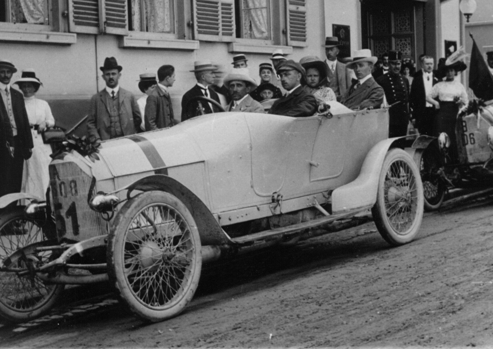 Inventive genius - Ferdinand Porsche - History - Porsche Holding